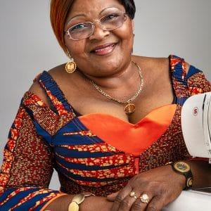 Charlotte Nsabaka – Congolese Seamstress