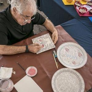 Mohammad Abdullah Jasim – Turkish Iznik Ceramics