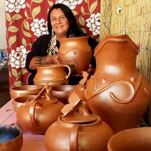 Shelden Nuñez-Velarde – Jicarilla Apache Pottery